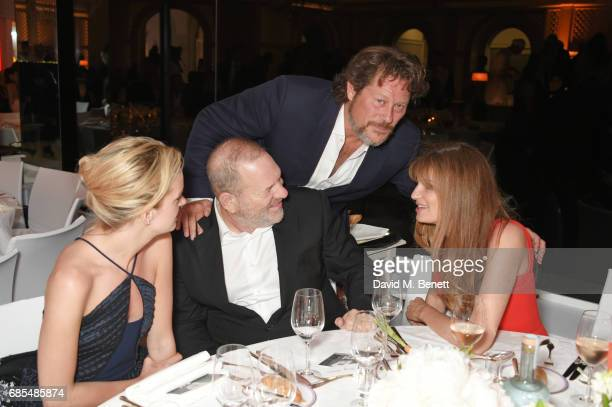Charlotte Carroll Harvey Weinstein Arpad Busson and Jemima Khan attend The 9th Annual Filmmakers Dinner hosted by Charles Finch and JaegerLeCoultre...
