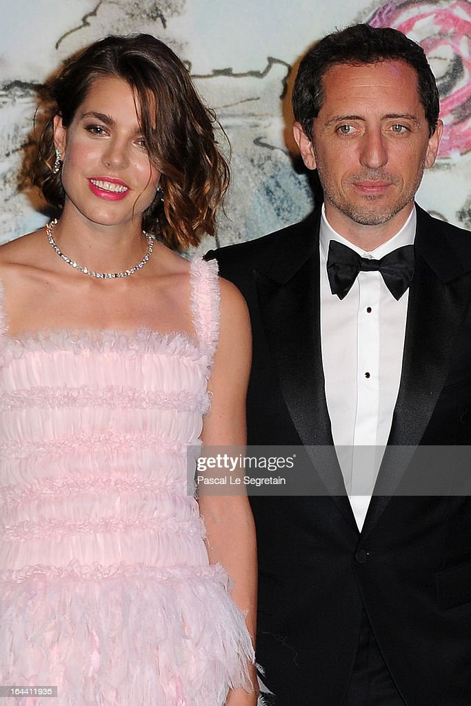<a gi-track='captionPersonalityLinkClicked' href=/galleries/search?phrase=Charlotte+Casiraghi&family=editorial&specificpeople=206874 ng-click='$event.stopPropagation()'>Charlotte Casiraghi</a> and <a gi-track='captionPersonalityLinkClicked' href=/galleries/search?phrase=Gad+Elmaleh&family=editorial&specificpeople=586672 ng-click='$event.stopPropagation()'>Gad Elmaleh</a> attend the 'Bal De La Rose Du Rocher' in aid of the Fondation Princess Grace on the 150th Anniversary of the SBM at Sporting Monte-Carlo on March 23, 2013 in Monte-Carlo, Monaco.