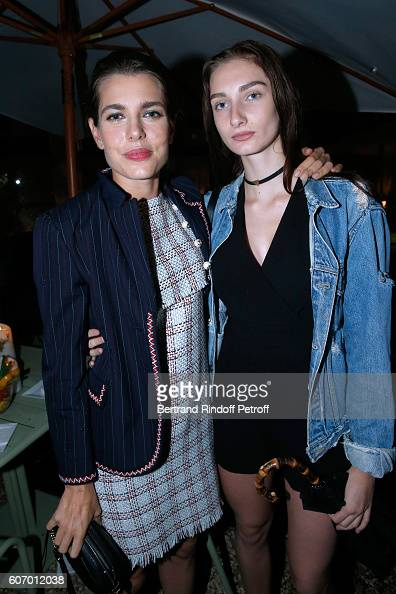 charlotte-casiraghi-and-mathilde-pinault-attend-the-4o-rue-de-sevres-picture-id607012038