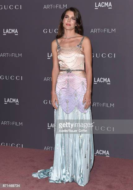 Charlotte Casiraghi arrives at the 2017 LACMA Art Film Gala at LACMA on November 4 2017 in Los Angeles California