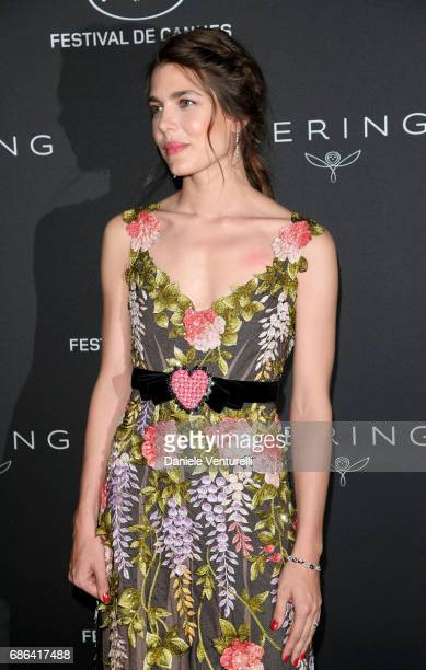 Charlotte Casiraghi attend the Women in Motion Awards Dinner at the 70th Cannes Film Festival at Place de la Castre on May 21 2017 in Cannes France