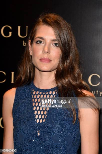 Charlotte Casiraghi attends Gucci Beauty Launch Event Hosted By Frida Giannini during the Milan Fashion Week Womenswear Spring/Summer 2015 on...
