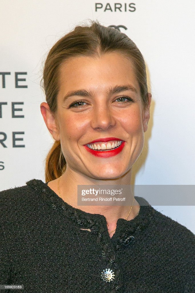 <a gi-track='captionPersonalityLinkClicked' href=/galleries/search?phrase=Charlotte+Casiraghi&family=editorial&specificpeople=206874 ng-click='$event.stopPropagation()'>Charlotte Casiraghi</a> attends 'La Petite Veste Noire' Book Launch Hosted By Karl Lagerfeld & Carine Roitfeld at Grand Palais on November 8, 2012 in Paris, France.