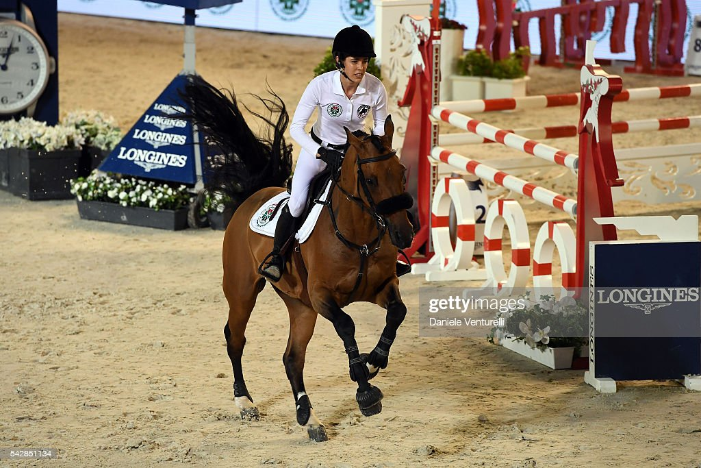 <a gi-track='captionPersonalityLinkClicked' href=/galleries/search?phrase=Charlotte+Casiraghi&family=editorial&specificpeople=206874 ng-click='$event.stopPropagation()'>Charlotte Casiraghi</a> attends Longines Global Champions Tour of Monaco on June 24, 2016 in Monaco, Monaco.
