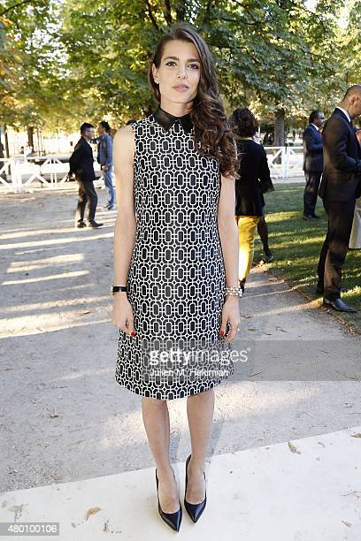 Charlotte Casiraghi attends Montblanc Boheme Event Paris at Orangerie Ephemere on July 10 2015 in Paris France