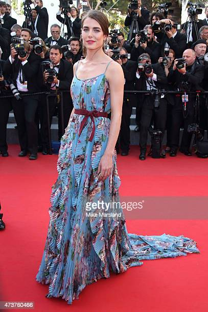 Charlotte Casiraghi attends the 'Carol' Premiere during the 68th annual Cannes Film Festival on May 17 2015 in Cannes France
