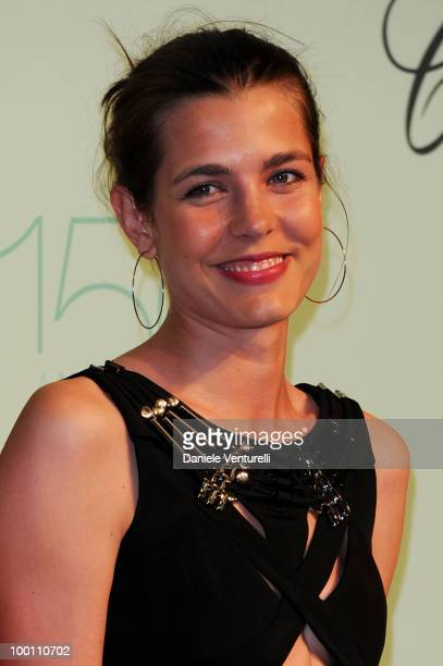 Charlotte Casiraghi attends the Chopard 150th Anniversary Party at the VIP Room Palm Beach during the 63rd Annual International Cannes Film Festival...
