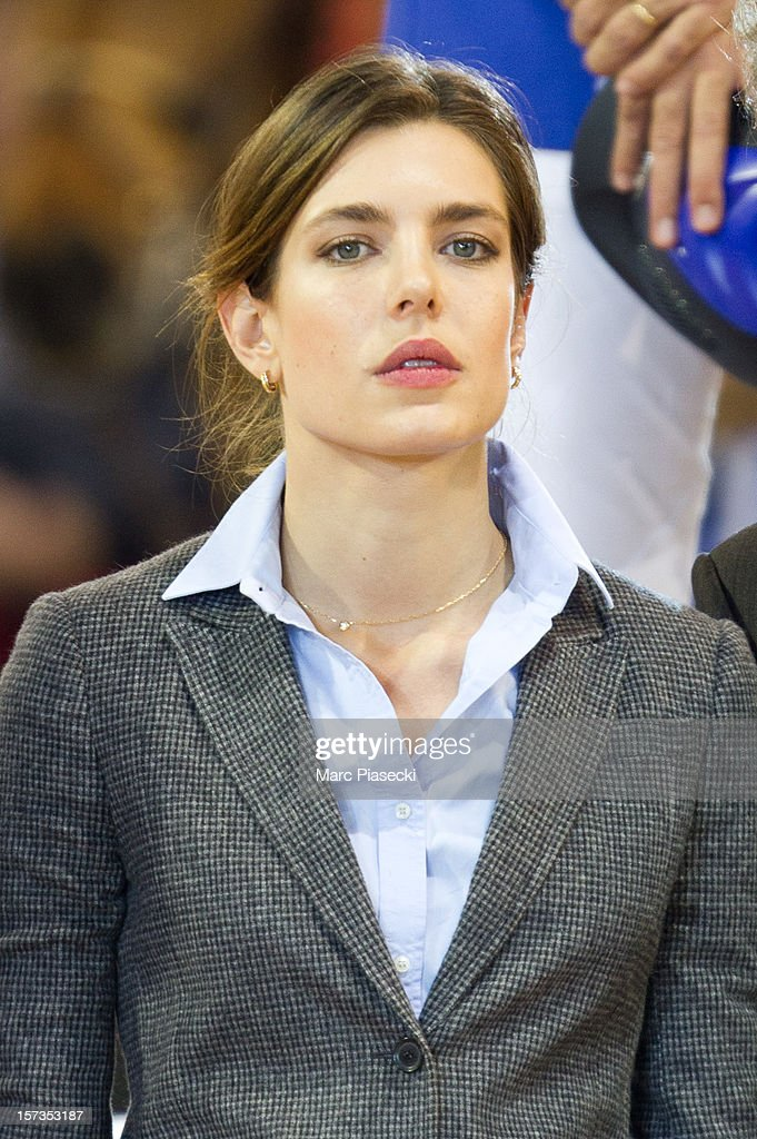 Charlotte Casiraghi attends the 'Gucci Paris Masters 2012' at Paris Nord Villepinte on December 2, 2012 in Paris, France.