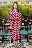 Charlotte Casiraghi attends the Gucci show during the Milan Fashion Week Spring/Summer 2016 on September 23 2015 in Milan Italy