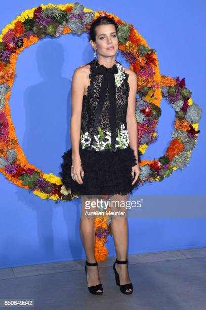 Charlotte Casiraghi attends the opening season gala at Opera Garnier on September 21 2017 in Paris France