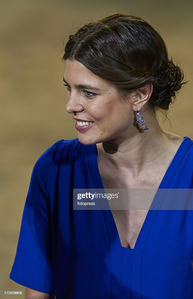 <a gi-track='captionPersonalityLinkClicked' href=/galleries/search?phrase=Charlotte+Casiraghi&family=editorial&specificpeople=206874 ng-click='$event.stopPropagation()'>Charlotte Casiraghi</a> attends the Riviera Grand Prix du Prince as part of the Longines Global Champions Tour Of Monaco 2013 on June 29, 2013 in Monte-Carlo, Monaco.