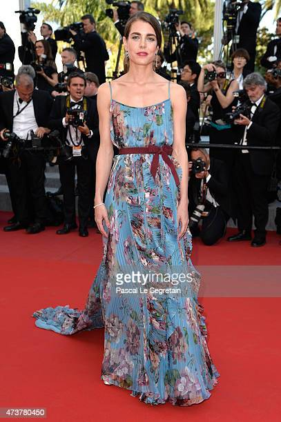 Charlotte Casiraghi attends the 'Rocco and His Brothers Restoration' Premiere during the 68th annual Cannes Film Festival on May 17 2015 in Cannes...