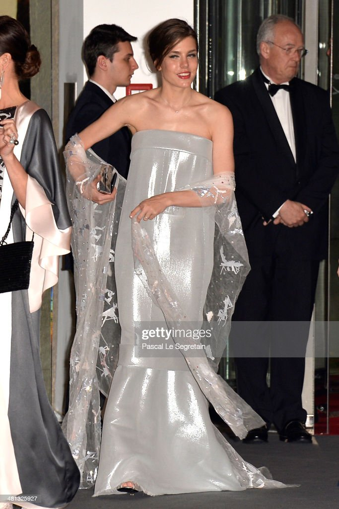 <a gi-track='captionPersonalityLinkClicked' href=/galleries/search?phrase=Charlotte+Casiraghi&family=editorial&specificpeople=206874 ng-click='$event.stopPropagation()'>Charlotte Casiraghi</a> attends the Rose Ball 2014 in aid of the Princess Grace Foundation at Sporting Monte-Carlo on March 29, 2014 in Monte-Carlo, Monaco.