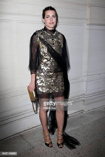 Charlotte Casiraghi attends the Vogue Foundation Gala 2016 at Palais Galliera on July 5 2016 in Paris France