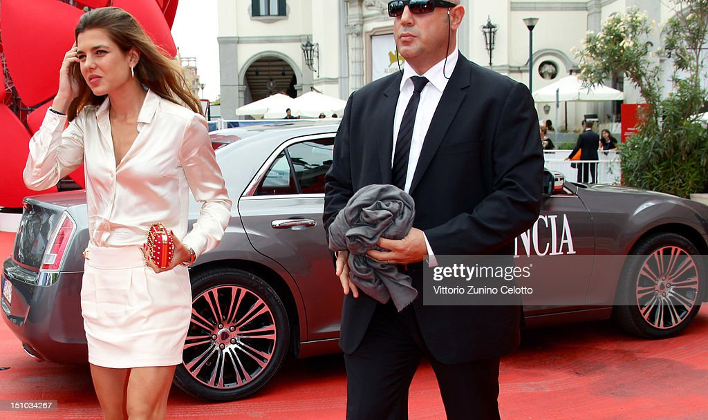 <a gi-track='captionPersonalityLinkClicked' href=/galleries/search?phrase=Charlotte+Casiraghi&family=editorial&specificpeople=206874 ng-click='$event.stopPropagation()'>Charlotte Casiraghi</a> attends World Restoration Premiere Of 'The Mattei Affair' at The 69th Venice International Film Festival at the Palazzo del Cinema on August 31, 2012 in Venice, Italy.