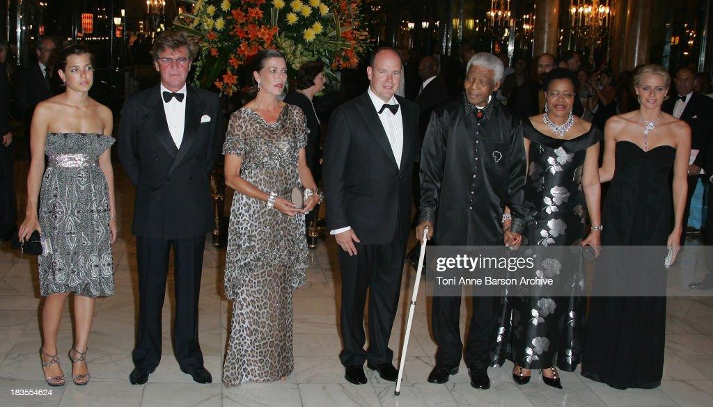 Nelson Mandela - Unite For A Better World Gala Dinner - Arrivals