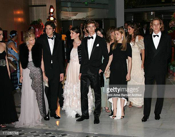 Charlotte Casiraghi Pierre Casiraghi Tatiana Santo Domingo and Andrea Casiraghi