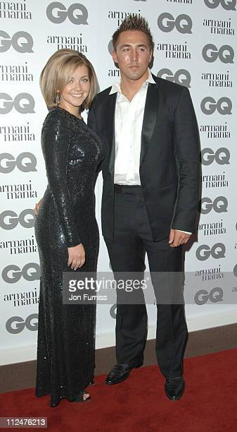 Charlotte Church and Gavin Henson during 2005 GQ Men of the Year Awards Inside Arrivals at Royal Opera House in London Great Britain