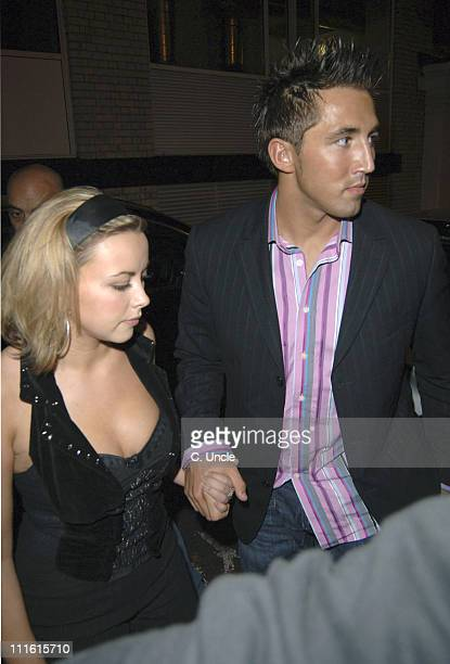 Charlotte Church And Gavin Henson during Charlotte Church Arrives at GAY September 24 2005 at The Astoria in London Great Britain