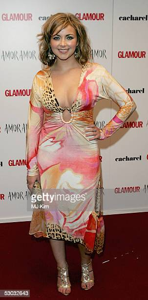 Charlotte Church arrives at the Glamour Women Of The Year Awards 2005 at Berkeley Square on June 7 2005 in London England The Jonathan Rosshosted...