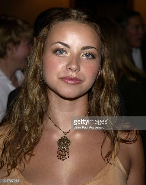 Charlotte Church during 'Dinner Of Champions' to Benefit The National MS Society at Century Plaza Hotel in Century City California United States