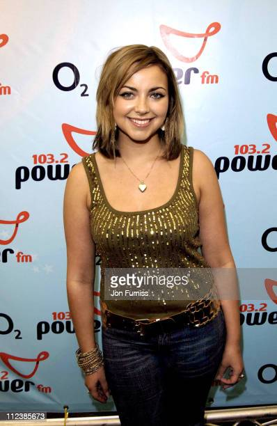 Charlotte Church during Power in The Park Southampton Press Room June 5 2005 at Southampton Common in Southampton Great Britain