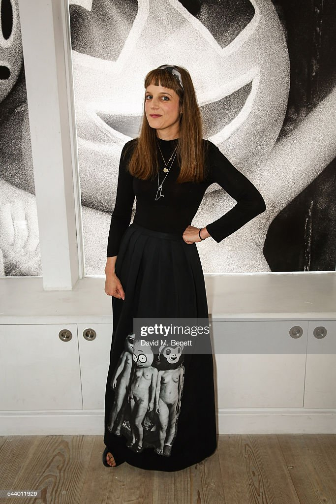 Charlotte Colbert attends a private view of 'Ordinary Madness' by Charlotte Colbert at Gazelli Art House on June 30, 2016 in London, England.