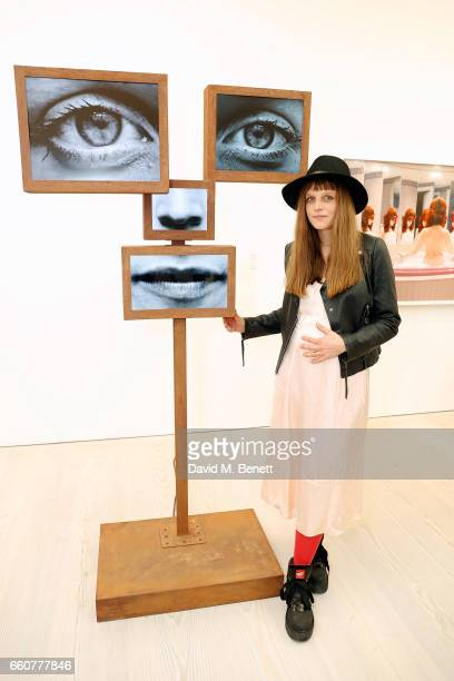 Charlotte Colbert attends the 'From Selfie To SelfExpression Exhibition presented by Huawei in partnership with the Saatchi Gallery on March 30 2017...