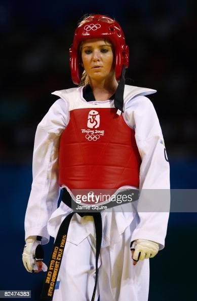 Craig (CO) United States  city photos : Charlotte Craig of the United States competes in the Women's taekwondo ...