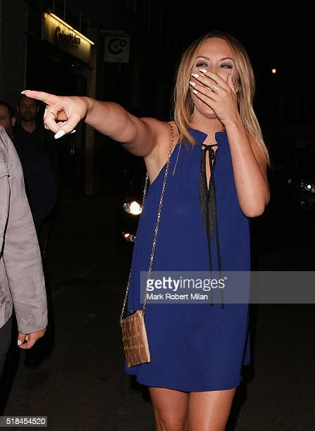Charlotte Crosby attending the In The Style clothing launch at Libertine on March 31 2016 in London England