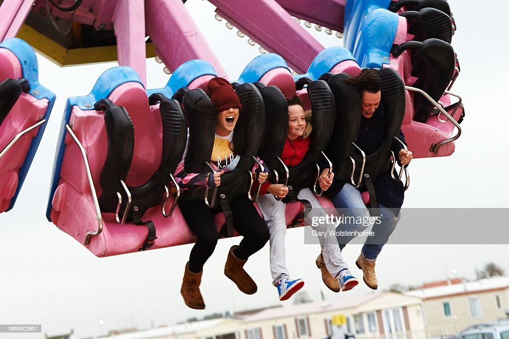 Charlotte Crosby is seen at Fantasy Island theme park on November 1, 2013 in Skegness, England.
