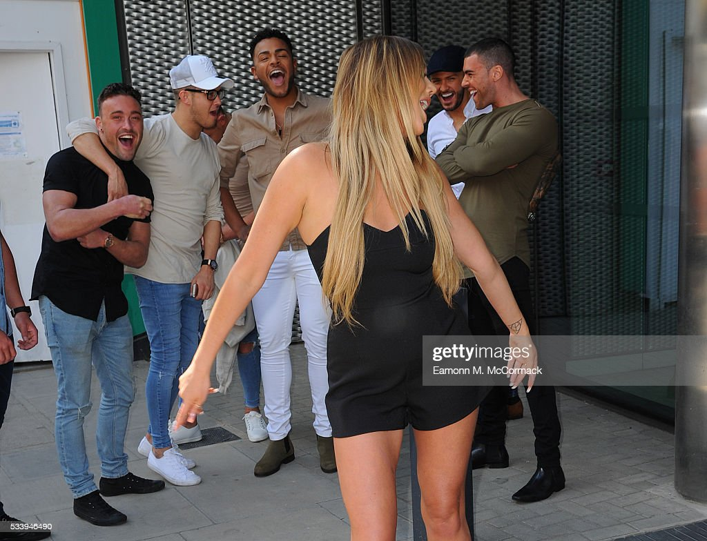 <a gi-track='captionPersonalityLinkClicked' href=/galleries/search?phrase=Charlotte+Crosby&family=editorial&specificpeople=9197610 ng-click='$event.stopPropagation()'>Charlotte Crosby</a> of Geordie Shore Cast arrives to celebrate their fifth birthday at MTV London on May 24, 2016 in London, England.
