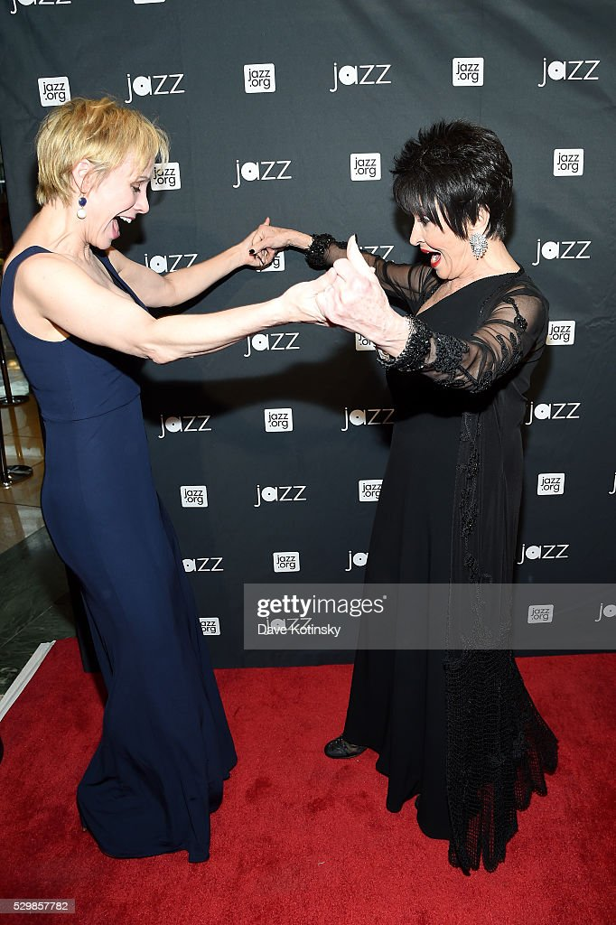 Charlotte d'Amboise and Chita Rivera attend the Jazz at Lincoln Center 2016 Gala 'Jazz and Broadway' honoring Diana and Joe Dimenna and Ahmad Jamal...