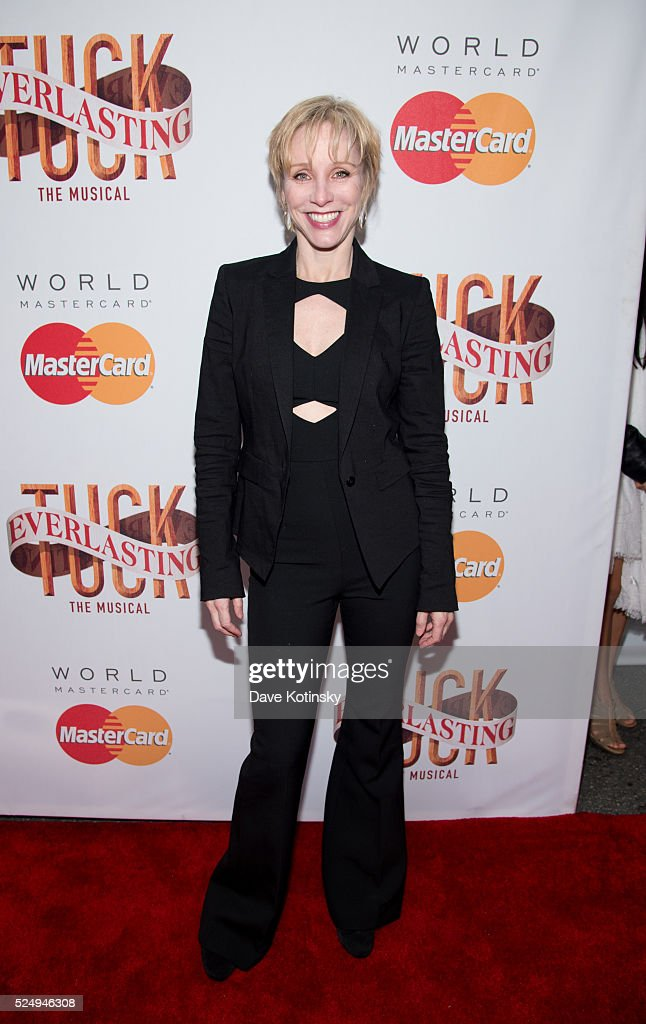 Charlotte D'Amboise at 'Tuck Everlasting' Broadway Opening Night at The Broadhurst Theatre on April 26 2016 in New York City