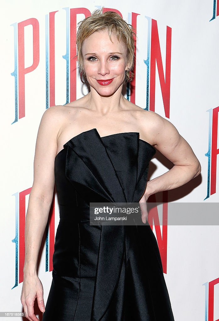 Charlotte d'Amboise attends the after party for the Broadway opening night of 'Pippin' at Slate on April 25, 2013 in New York City.