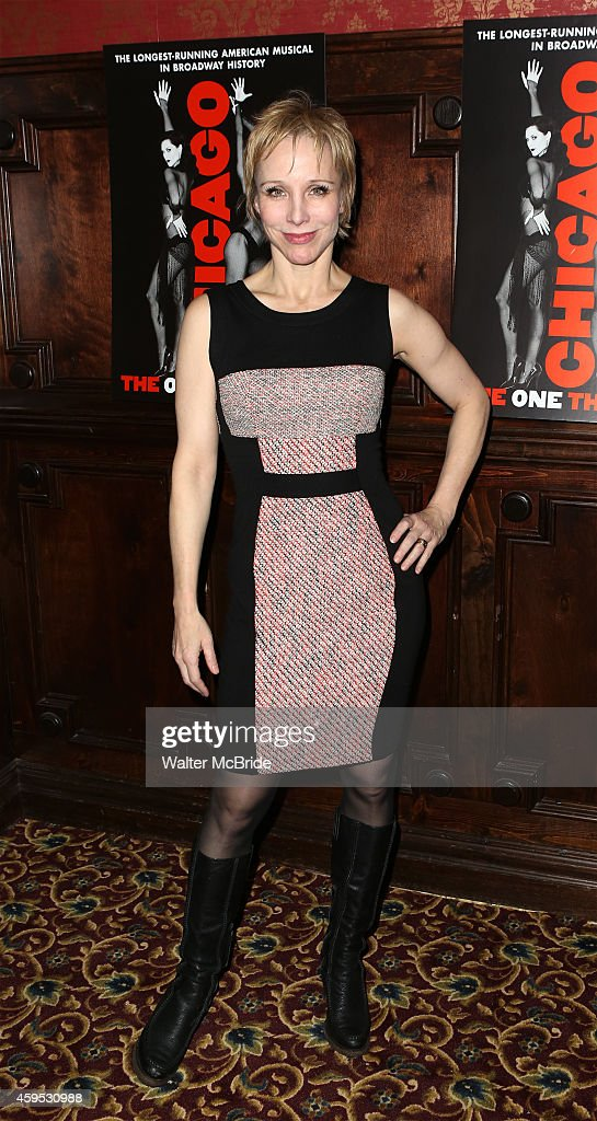 Charlotte d'Amboise attends the celebration party for 'Chicago' as it becomes the 2nd longest show in Broadway History at the Ambassador Theatre on...