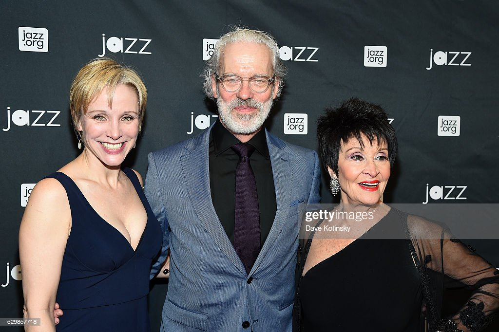 Charlotte d'Amboise Terrence Mann and Chita Rivera attend the Jazz at Lincoln Center 2016 Gala 'Jazz and Broadway' honoring Diana and Joe Dimenna and...