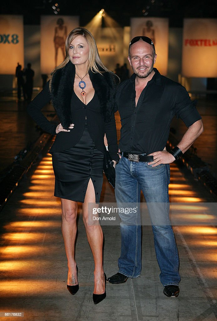Charlotte Dawson and Alex Perry arrive for the official launch party for 'Australia's Next Top Model' at Australian Technology Park on April 23 2009...