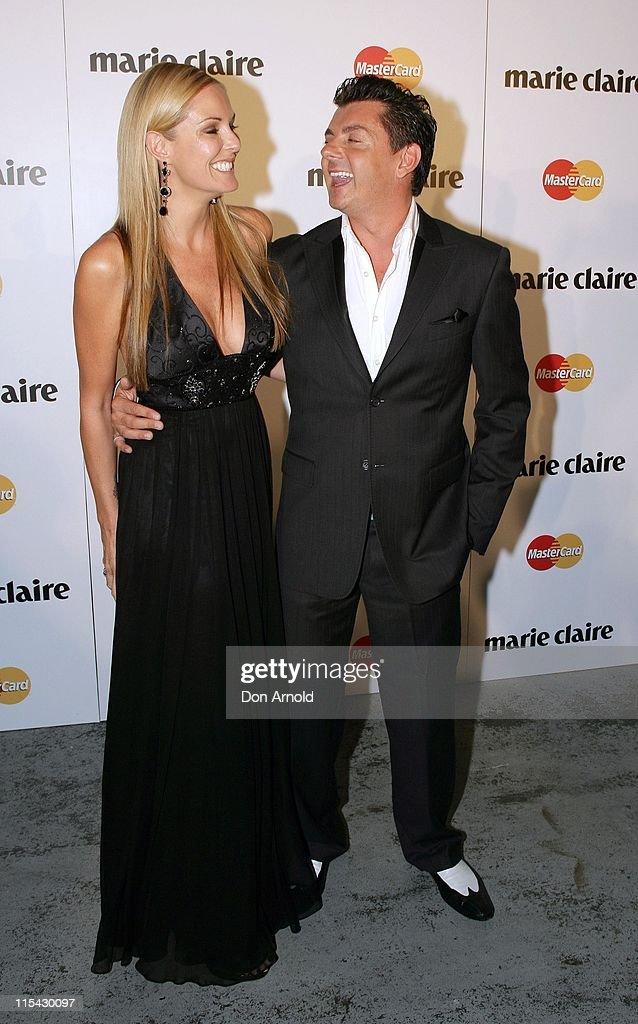 Charlotte Dawson and Alex ZabottoBentley during 2007 Marie Claire Awards at White Bay Studios in Sydney NSW Australia