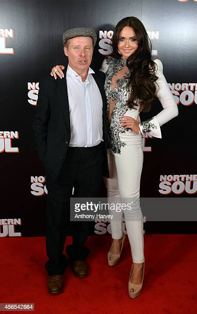 Charlotte Dawson and Daniel Coll attend the UK Gala screening of 'Northern Soul' at Curzon Soho on October 2 2014 in London England