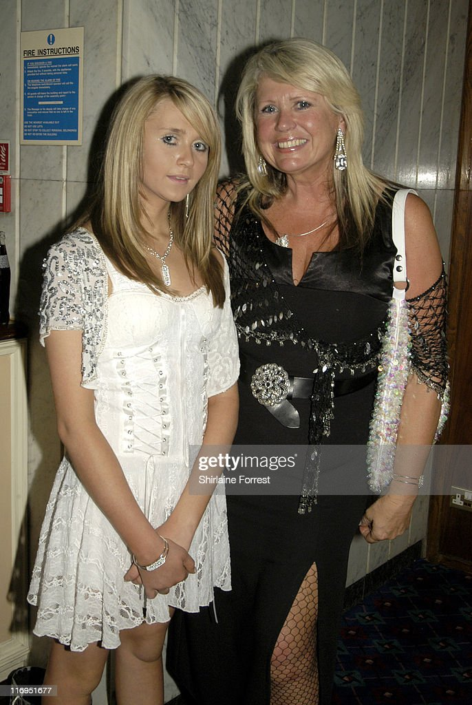 Charlotte Dawson and Tracey Dawson during North West Comedy Awards October 28 2005 at Piccadilly Hotel in Manchester Great Britain