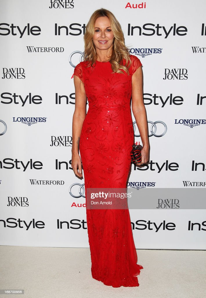 Charlotte Dawson arrives at the 2013 Instyle and Audi Women of Style Awards at Carriageworks on May 14 2013 in Sydney Australia