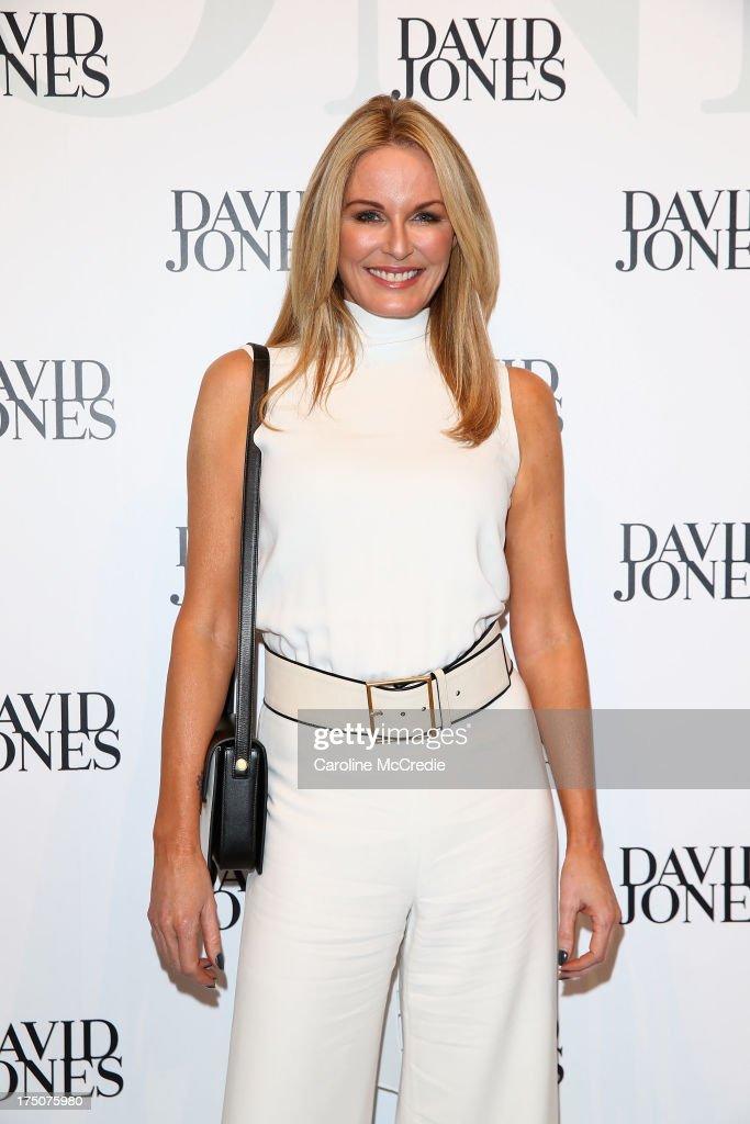 Charlotte Dawson arrives at the David Jones Spring/Summer 2013 Collection Launch at David Jones Elizabeth Street on July 31, 2013 in Sydney, Australia.