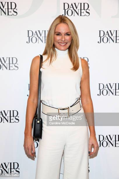 Charlotte Dawson arrives at the David Jones Spring/Summer 2013 Collection Launch at David Jones Elizabeth Street on July 31 2013 in Sydney Australia
