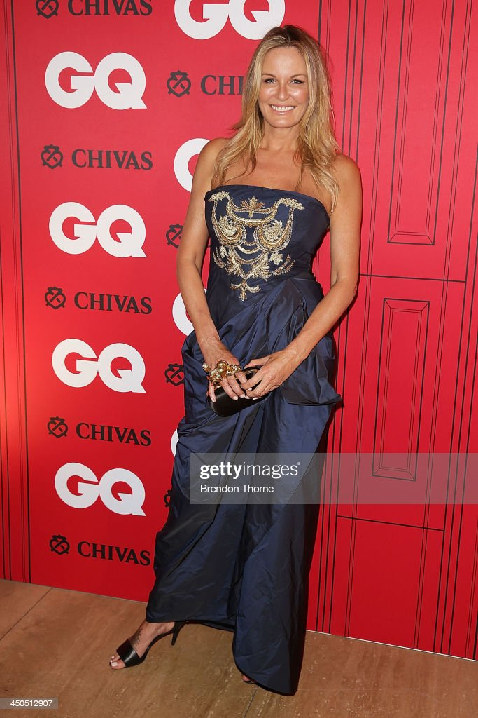 Charlotte Dawson arrives at the GQ Men of the Year awards at the Ivy Ballroom on November 19 2013 in Sydney Australia