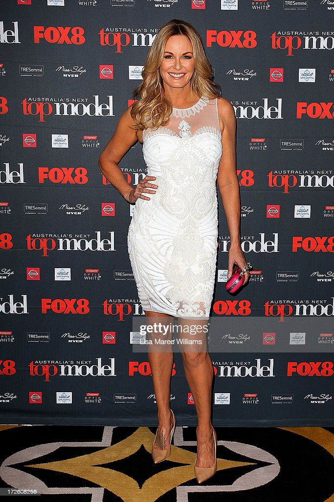 Charlotte Dawson arrives at the launch of Australia's Next Top Model Season 8 at Doltone House on July 4, 2013 in Sydney, Australia.
