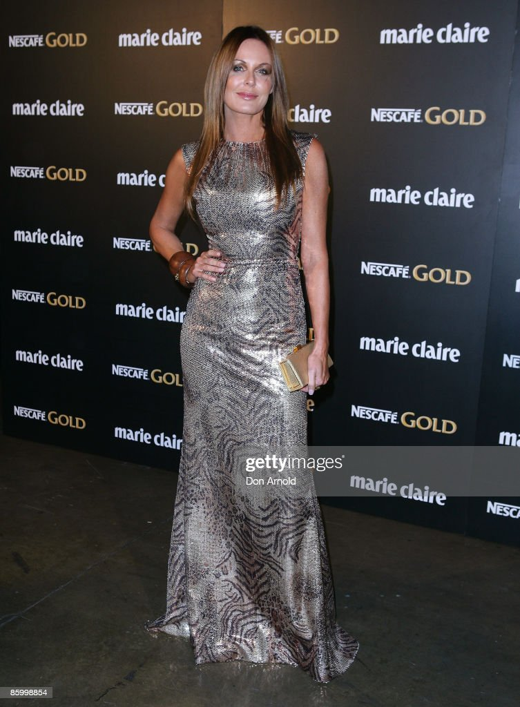 Charlotte Dawson arrives for the 2009 Prix de Marie Claire Awards at the Royal Hall of Industries on April 16 2009 in Sydney Australia