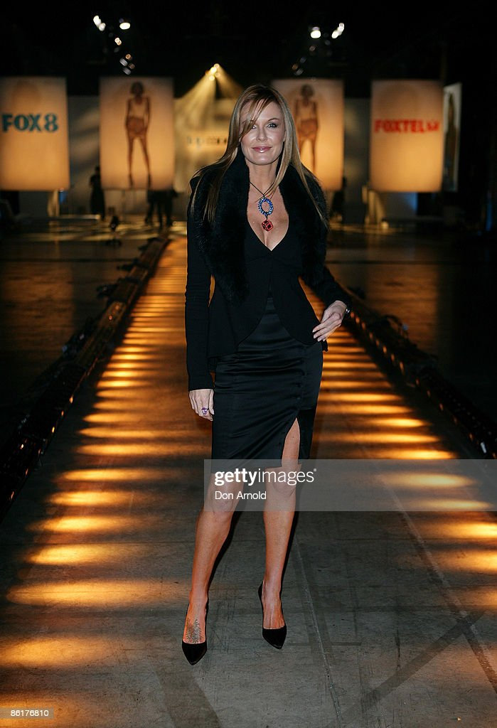 Charlotte Dawson arrives for the official launch party for 'Australia's Next Top Model' at Australian Technology Park on April 23 2009 in Sydney...