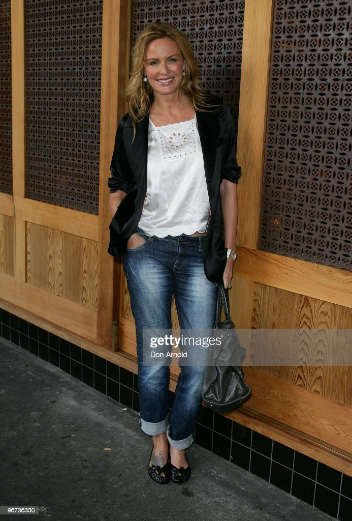 Charlotte Dawson attends a drinks reception to promote Arena's new TV show 'The Jacksons A Family Dynasty' at Tokonoma on February 16 2010 in Sydney...