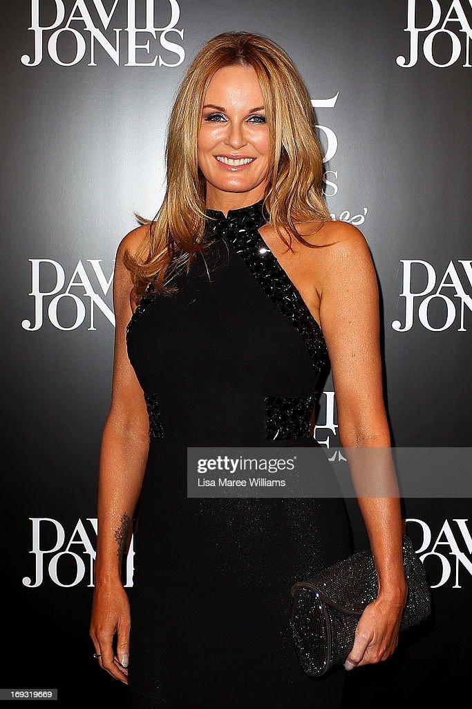 Charlotte Dawson attends the David Jones 175 year celebration at David Jones on May 23 2013 in Sydney Australia